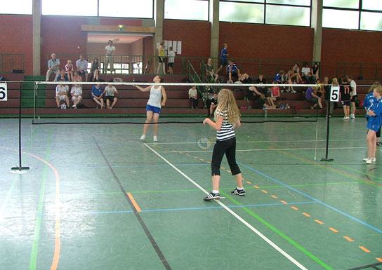 Sportangebot Badminton