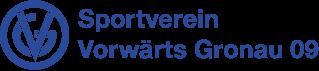 Logo Sportverein Vorwärts Gronau blau_321x70
